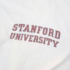 """画像4: 1980's collegiate pacific """"STANFORD UNIVERSITY"""" Print T-Shirt WHITE size M(表記L) (4)"""