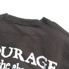 """画像10: 1990's FRUIT OF THE LOOM """"BIG BALZ EDGE GEAR"""" Print T-Shirt BLACK size L(表記L) (10)"""