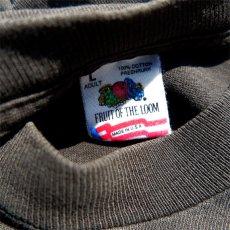 """画像5: 1990's FRUIT OF THE LOOM """"BIG BALZ EDGE GEAR"""" Print T-Shirt BLACK size L(表記L) (5)"""