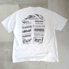 """画像5: 1980's Hanes BEEFY """"COYOTE 5K"""" Print T-Shirt WHITE size L-XL(表記XL) (5)"""