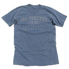 "画像1: 1990's ""PEPSI"" Print T-Shirt PIGMENT BLUE size L-XL(表記L-XL) (1)"