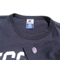"""画像3: 1990's~ Champion """"UCONN"""" College Print T-Shirt NAVY size L(表記L) (3)"""