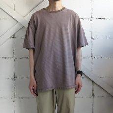 """画像2: """"GAP"""" Multi Border T-Shirt BROWN size XL(表記XXL) (2)"""