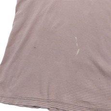 """画像4: """"GAP"""" Multi Border T-Shirt BROWN size XL(表記XXL) (4)"""