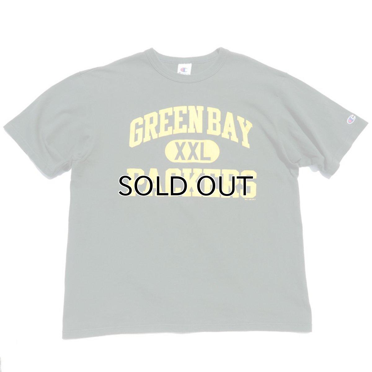 """画像1: 1990's Champion NFL """"GREEN BAY PACKERS"""" Print T-Shirt GREEN size XL(表記XL) (1)"""