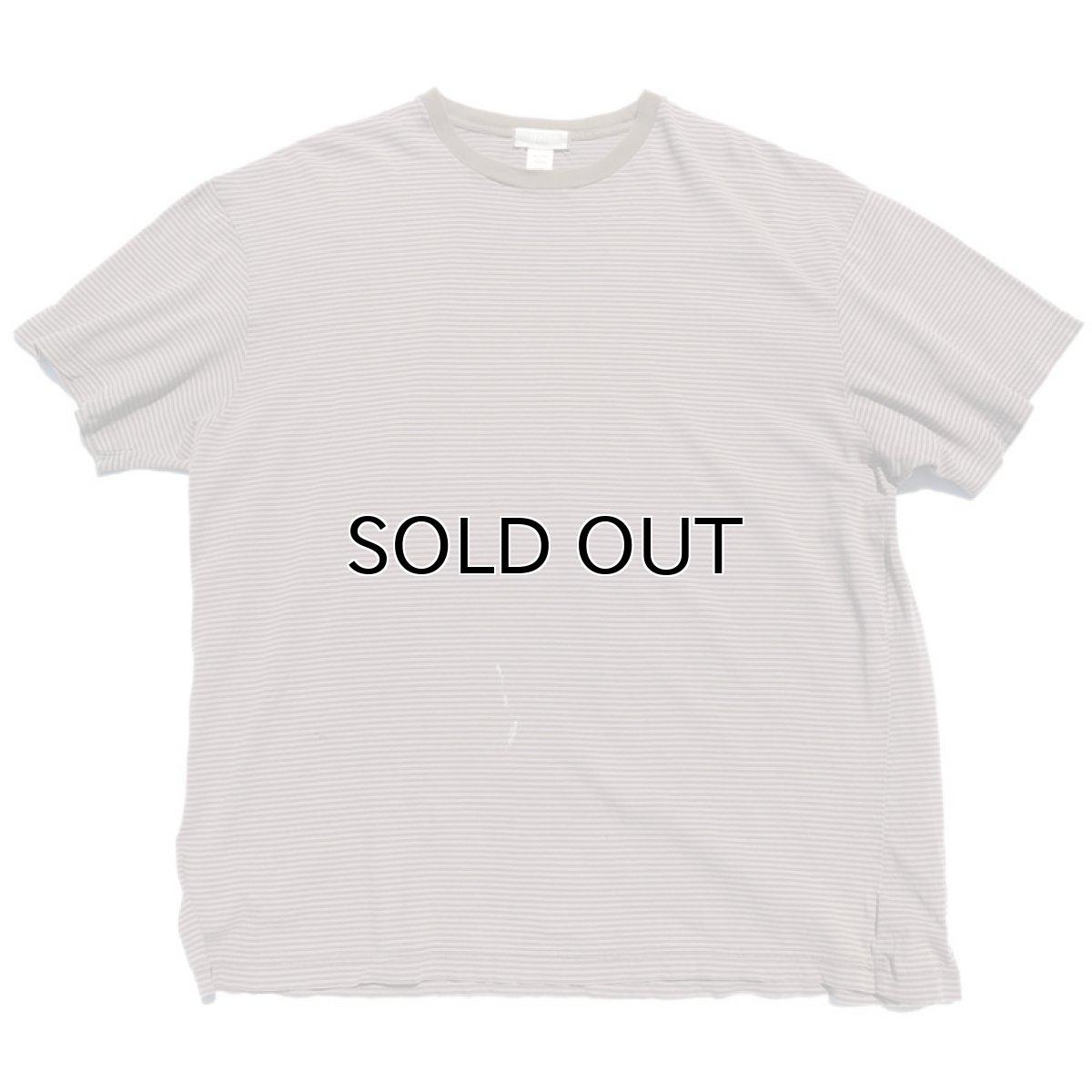 """画像1: """"GAP"""" Multi Border T-Shirt BROWN size XL(表記XXL) (1)"""