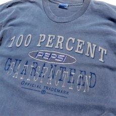 "画像5: 1990's ""PEPSI"" Print T-Shirt PIGMENT BLUE size L-XL(表記L-XL) (5)"