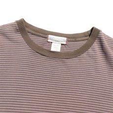 """画像3: """"GAP"""" Multi Border T-Shirt BROWN size XL(表記XXL) (3)"""