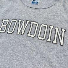 """画像4: 1990's~ Champion """"BOWDOIN"""" College Print T-Shirt HEATHER GREY size L(表記L) (4)"""