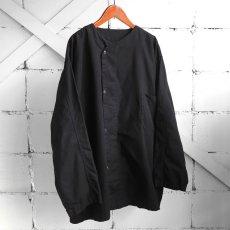 画像5: 1950's U.S. ARMY Cotton Pajama Shirt  -DEAD STOCK- BLACK over dyed size L (5)