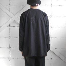 画像3: 1950's U.S. ARMY Cotton Pajama Shirt  -DEAD STOCK- BLACK over dyed size L (3)