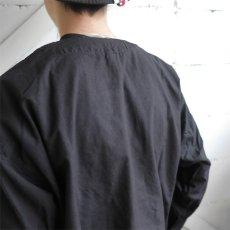 画像4: 1950's U.S. ARMY Cotton Pajama Shirt  -DEAD STOCK- BLACK over dyed size L (4)