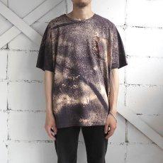 """画像2: Old """"Polo by Ralph Lauren"""" Bleached Pocket T-Shirt BLACK size XL (2)"""