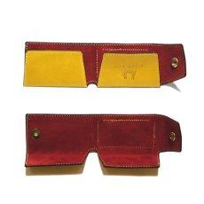 """画像4: """"JUTTA NEUMANN"""" Leather Wallet """"Scotts Purse""""  -MINIMAL SIZE- color : YELLOW / BRICK RED (4)"""