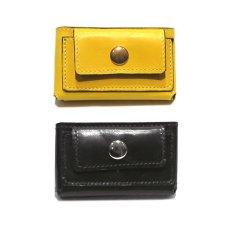 """画像8: """"JUTTA NEUMANN"""" Leather Wallet """"Scotts Purse""""  -MINIMAL SIZE- color : YELLOW / BRICK RED (8)"""