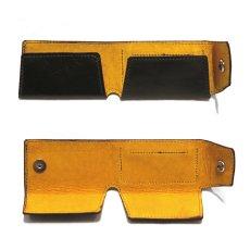 """画像4: """"JUTTA NEUMANN"""" Leather Wallet """"Scotts Purse""""  -MINIMAL SIZE- color : BLACK / MUSTARD (4)"""