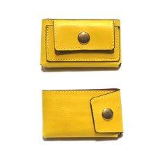 """画像2: """"JUTTA NEUMANN"""" Leather Wallet """"Scotts Purse""""  -MINIMAL SIZE- color : YELLOW / BRICK RED (2)"""