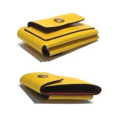 """画像3: """"JUTTA NEUMANN"""" Leather Wallet """"Scotts Purse""""  -MINIMAL SIZE- color : YELLOW / BRICK RED (3)"""
