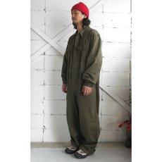 """画像11: 1950's """"French Military"""" Cotton Twill All in One -DEAD STOCK- OLIVE size L-XL(54) (11)"""