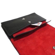 """画像8: """"JUTTA NEUMANN"""" Leather Wallet """"Waiter's Wallet"""" -長財布- color : Black / Orange (8)"""