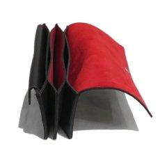 """画像6: """"JUTTA NEUMANN"""" Leather Wallet """"Waiter's Wallet"""" -長財布- color : Black / Orange (6)"""