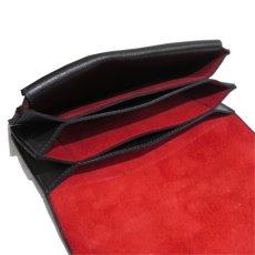 """画像7: """"JUTTA NEUMANN"""" Leather Wallet """"Waiter's Wallet"""" -長財布- color : Black / Orange (7)"""