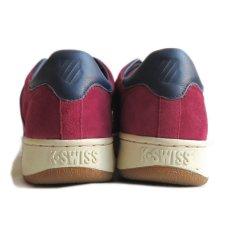 """画像4: NEW K-SWISS """"CLASSIC 96"""" Suede Sneaker BURGUNDY size US 9.5 (4)"""