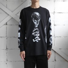"画像10: NEW ""M.C. Escher"" Multi Print L/S T-Shirts color : WHITE, BLACK size S, M, L (10)"
