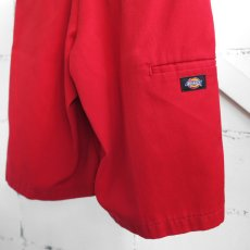 "画像6: ""Dickies"" Loose Fit Work Shorts RED size W32INCH (6)"
