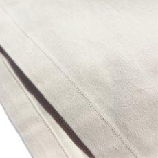 """画像7: Riprap """"Semi Open Collar Shirt"""" -Cotton Back Satin-  color : NATULAL size MEDIUM, LARGE, X-LARGE (7)"""
