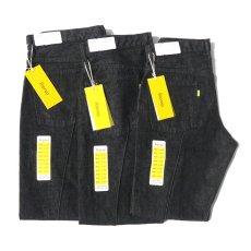 """画像11: Riprap """"Twisted Crease Jeans"""" -SLIM FIT- color : BLACK size W28~34INCH(XS~L) (11)"""