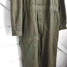 """画像5: 1950's """"French Military"""" Cotton Twill All in One -DEAD STOCK- OLIVE size L-XL(54) (5)"""
