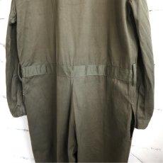 """画像6: 1950's """"French Military"""" Cotton Twill All in One -DEAD STOCK- OLIVE size L-XL(54) (6)"""
