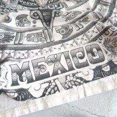 """画像5: YAZBEK """"MEXICO"""" All Over Print T-Shirt NATULAL size M-L (5)"""