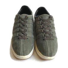 """画像2: NEW K-SWISS """"CLASSIC 96"""" Suede Sneaker OLIVE size US 10 (2)"""