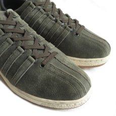 """画像5: NEW K-SWISS """"CLASSIC 96"""" Suede Sneaker OLIVE size US 10 (5)"""