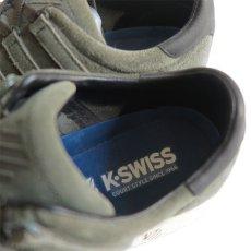 """画像7: NEW K-SWISS """"CLASSIC 96"""" Suede Sneaker OLIVE size US 10 (7)"""