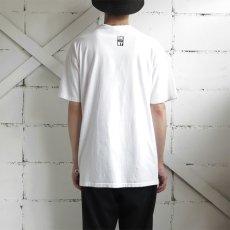 "画像4: 1990's ""DKNY JEANS"" Print T-Shirt WHITE/BLACK size L (4)"