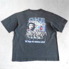 """画像4: EVOLUTION """"CHE GUEVARA"""" Print T-Shirt BLACK size M-L (4)"""