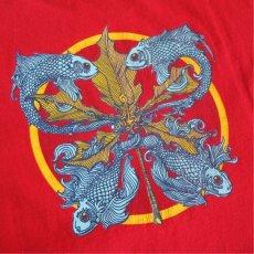"""画像6: 2000's """"PHISH"""" Tour Print T-Shirt RED size L (6)"""