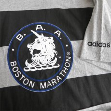 "画像6: 1990's adidas ""BOSTON MARATHON""  Print T-Shirt HEATHER GREY size XL-XXL (6)"