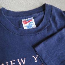 """画像3: 1990's """"NEW YORK YANKEES"""" Print T-Shirt NAVY size M-L (3)"""