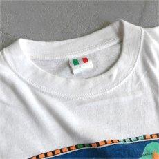 """画像3: ITALIA """"Margarita"""" Print T-Shirt WHITE size M-L (3)"""