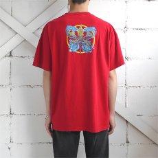 """画像3: 2000's """"PHISH"""" Tour Print T-Shirt RED size L (3)"""