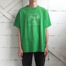 """画像2: 2000's """"PHISH"""" Tour Print T-Shirt GREEN size L (2)"""