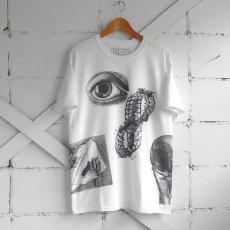 "画像3: NEW ""M.C. ESCHER"" Multi Print T-Shirts color : WHITE, BLACK size M, L, XL (3)"
