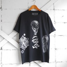 "画像7: NEW ""M.C. ESCHER"" Multi Print T-Shirts color : WHITE, BLACK size M, L, XL (7)"