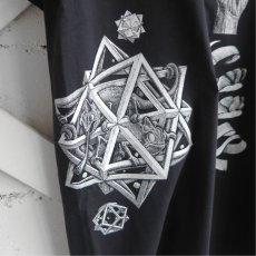 "画像9: NEW ""M.C. ESCHER"" Multi Print T-Shirts color : WHITE, BLACK size M, L, XL (9)"