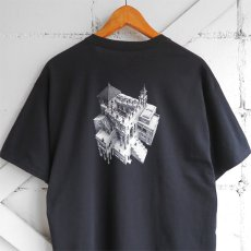"画像10: NEW ""M.C. ESCHER"" Multi Print T-Shirts color : WHITE, BLACK size M, L, XL (10)"