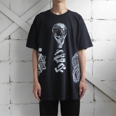 "画像12: NEW ""M.C. ESCHER"" Multi Print T-Shirts color : WHITE, BLACK size M, L, XL (12)"